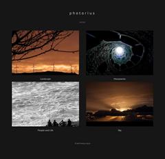 Photorius Albums Page Snapshot